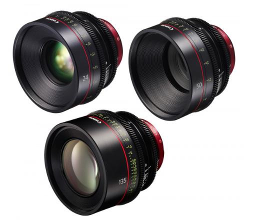 Canon EF Primes Bundle 24/50/135 (M)