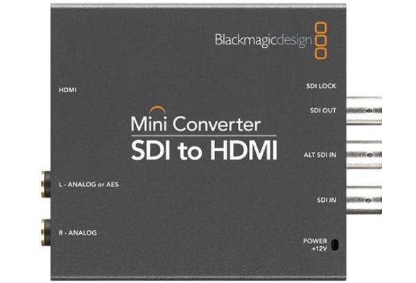 Blackmagic Mini Converter - SDI to HDMI