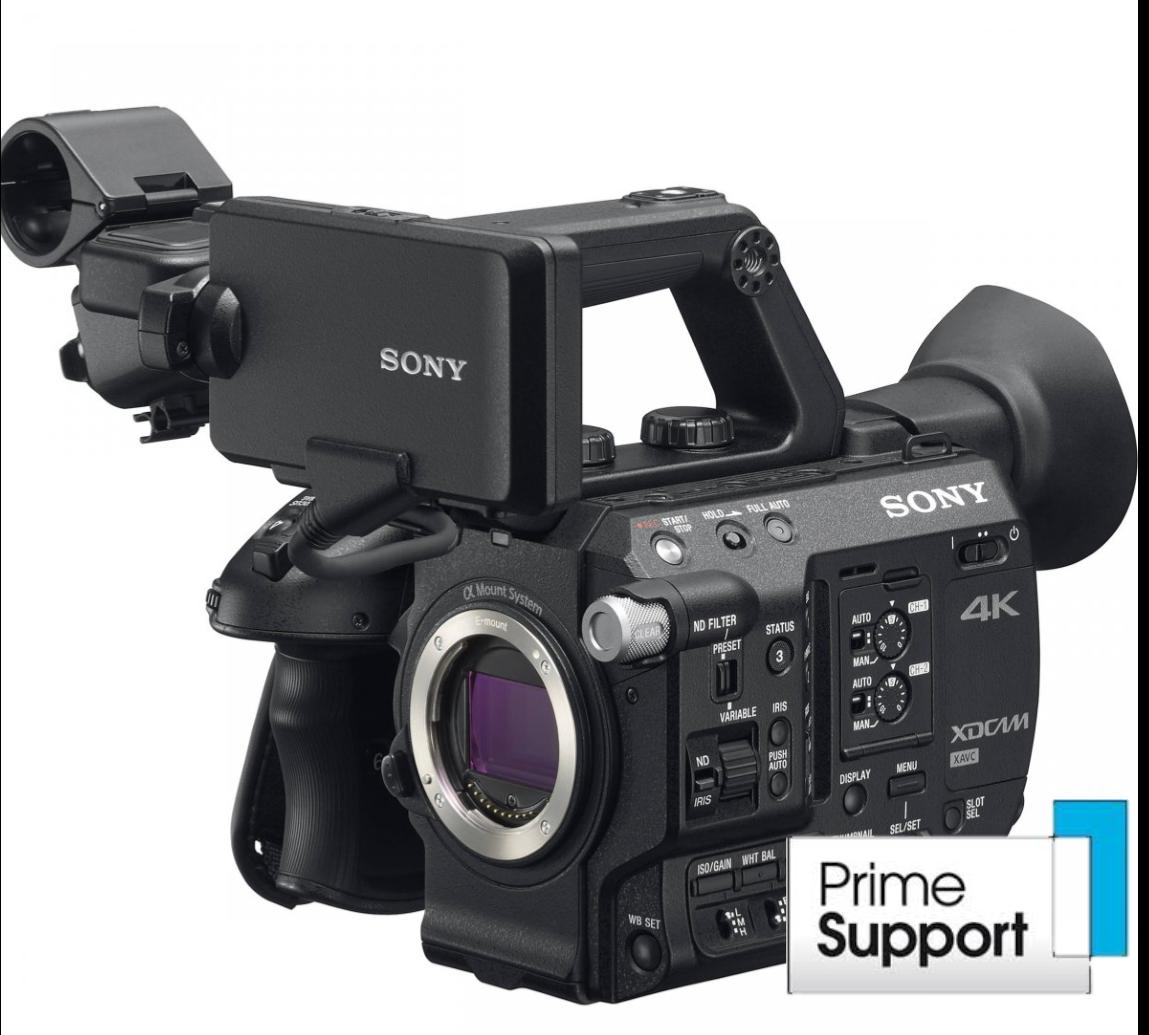 Sony PXW-FS5 com RAW Upgrade CBKZ-FS5RIF