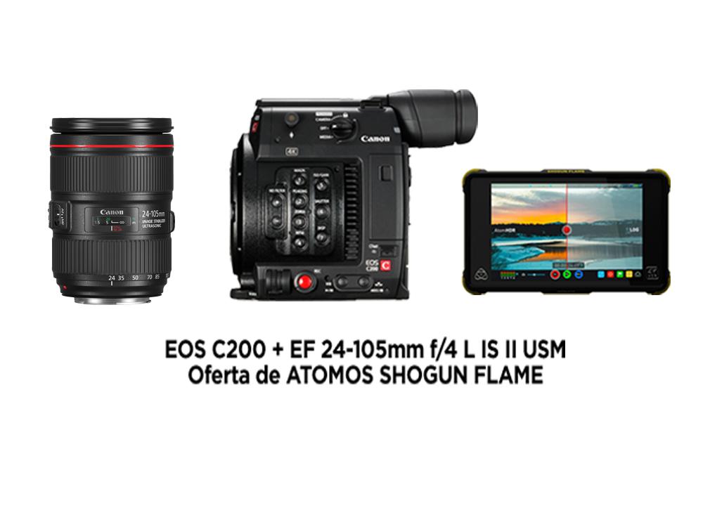 Canon EOS C200 EF + 24-105mm II