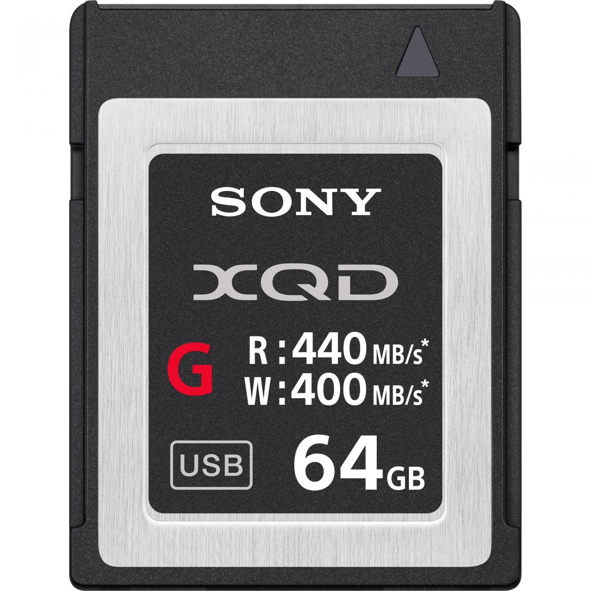 Sony Cartão Memória XQD-G64E