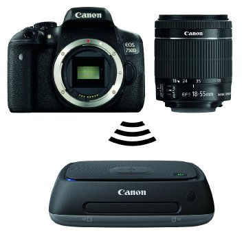 Canon Kit EOS 750D + EF-S 18-55IS STM + CS100 KIT