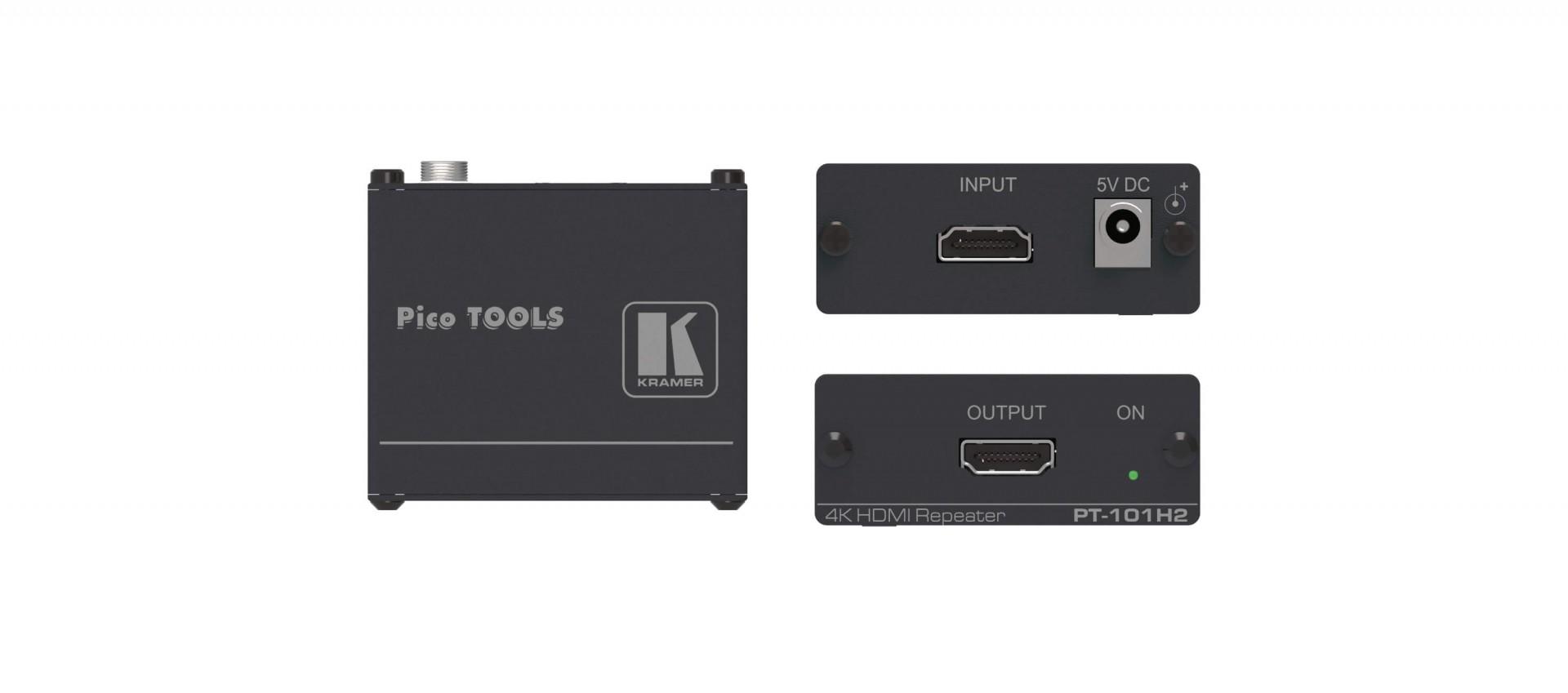 Kramer PT-101H2 - 4K HDR HDMI Repeater
