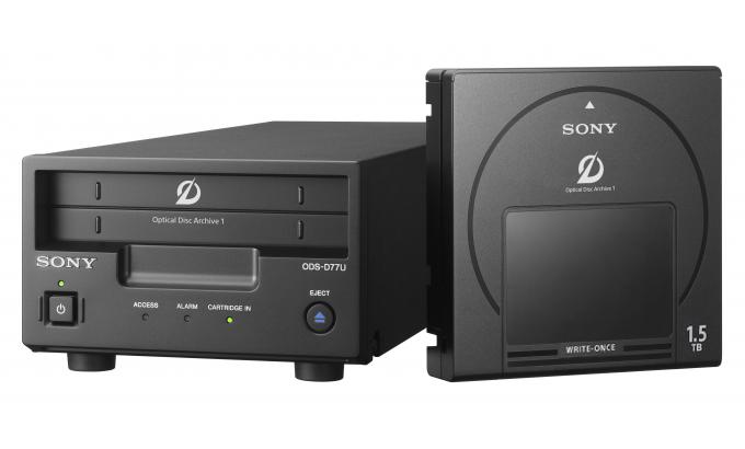 Sony ODA Drive com 7.5TB de Armazenamento (Kit com 5 Cartuchos 1.5 TB de gravação única)