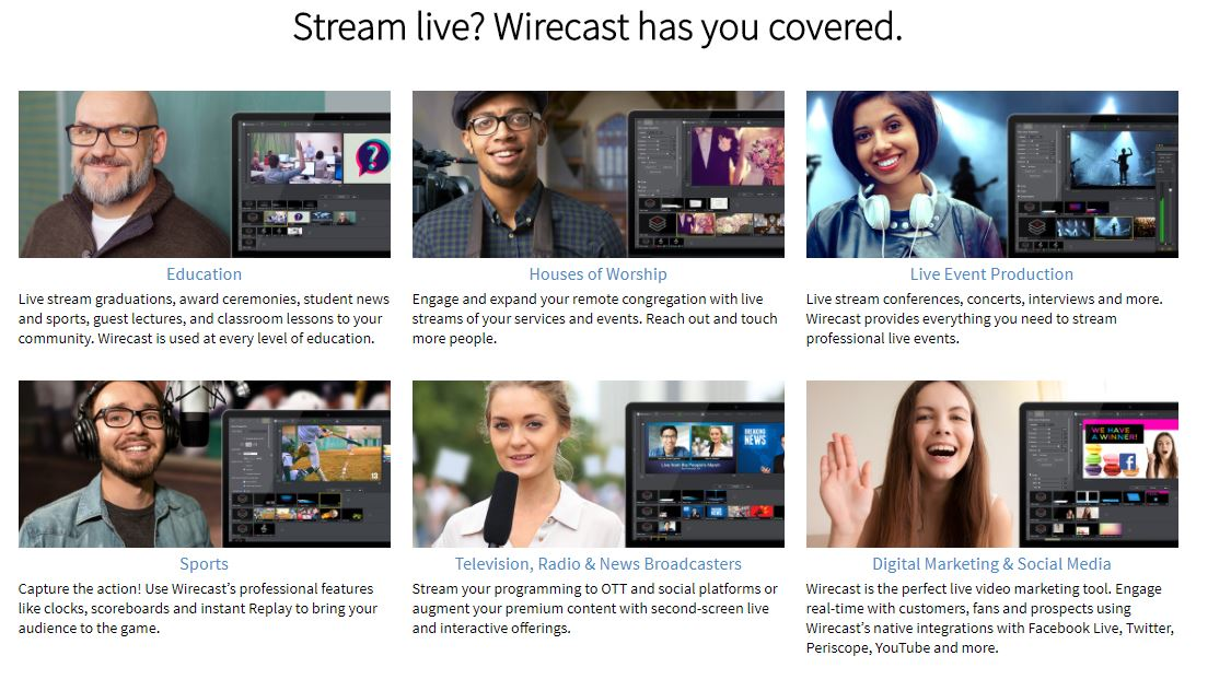 Telestream Wirecast Pro 9