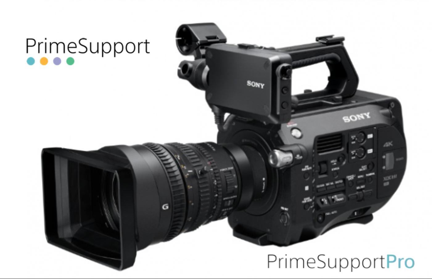 Sony PXW-FS7K + 1 Ano de Garantia Adicional (Prime Support PRO)