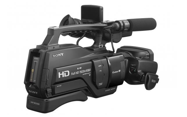 Sony HXR-MC2500E Câmara de Vídeo Profissional