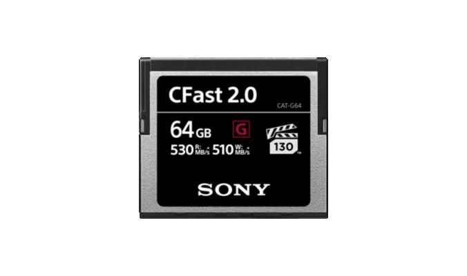 Sony Cartão C-Fast 64 GB