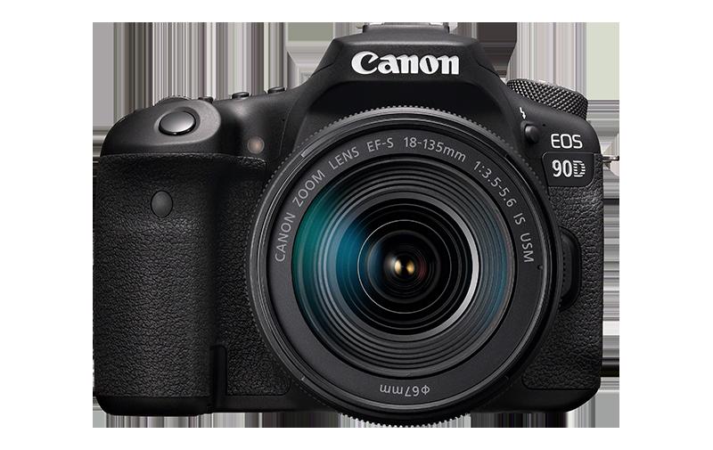 Canon EOS 90D + EF-S 18-135
