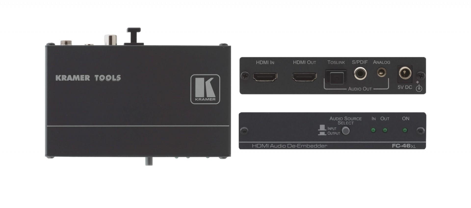 Kramer FC-46xl HDMI Audio De–Embedder