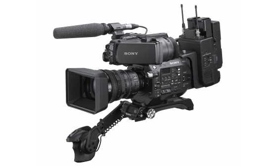 Sony CBK-FS7BK ENG (Electronic News Gathering) Style Build-up Kit for FS7 and FS7 II