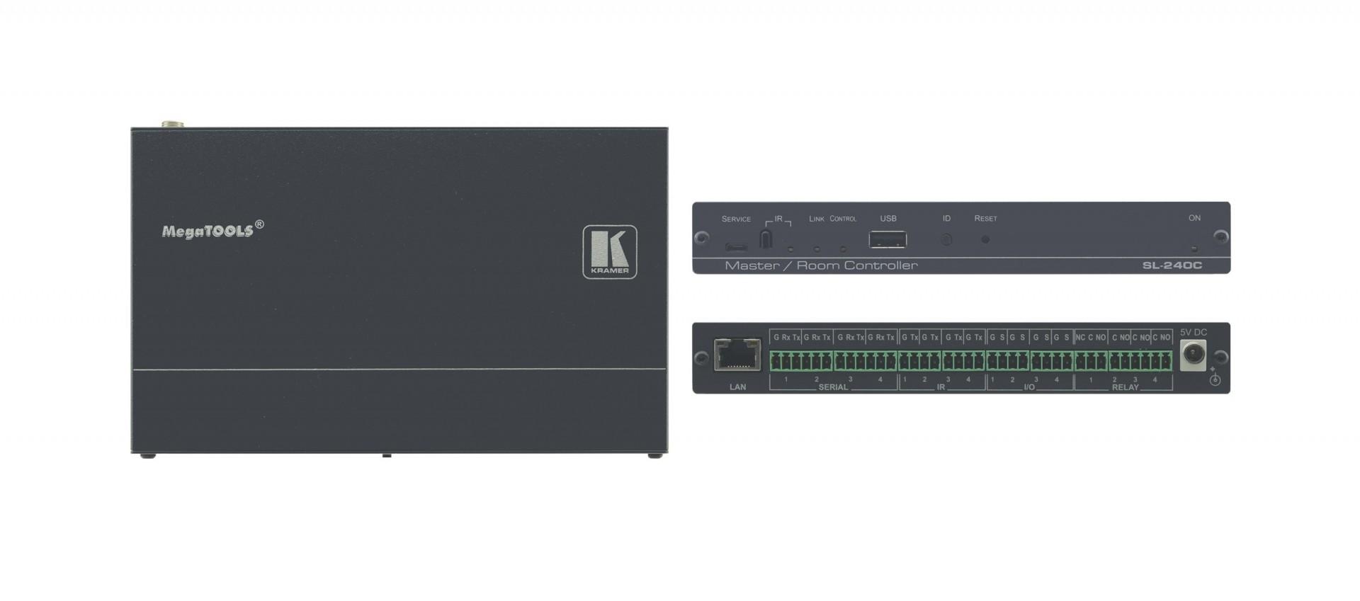 Kramer SL-240C Compact 16–Port Master / Room Controller with PoE