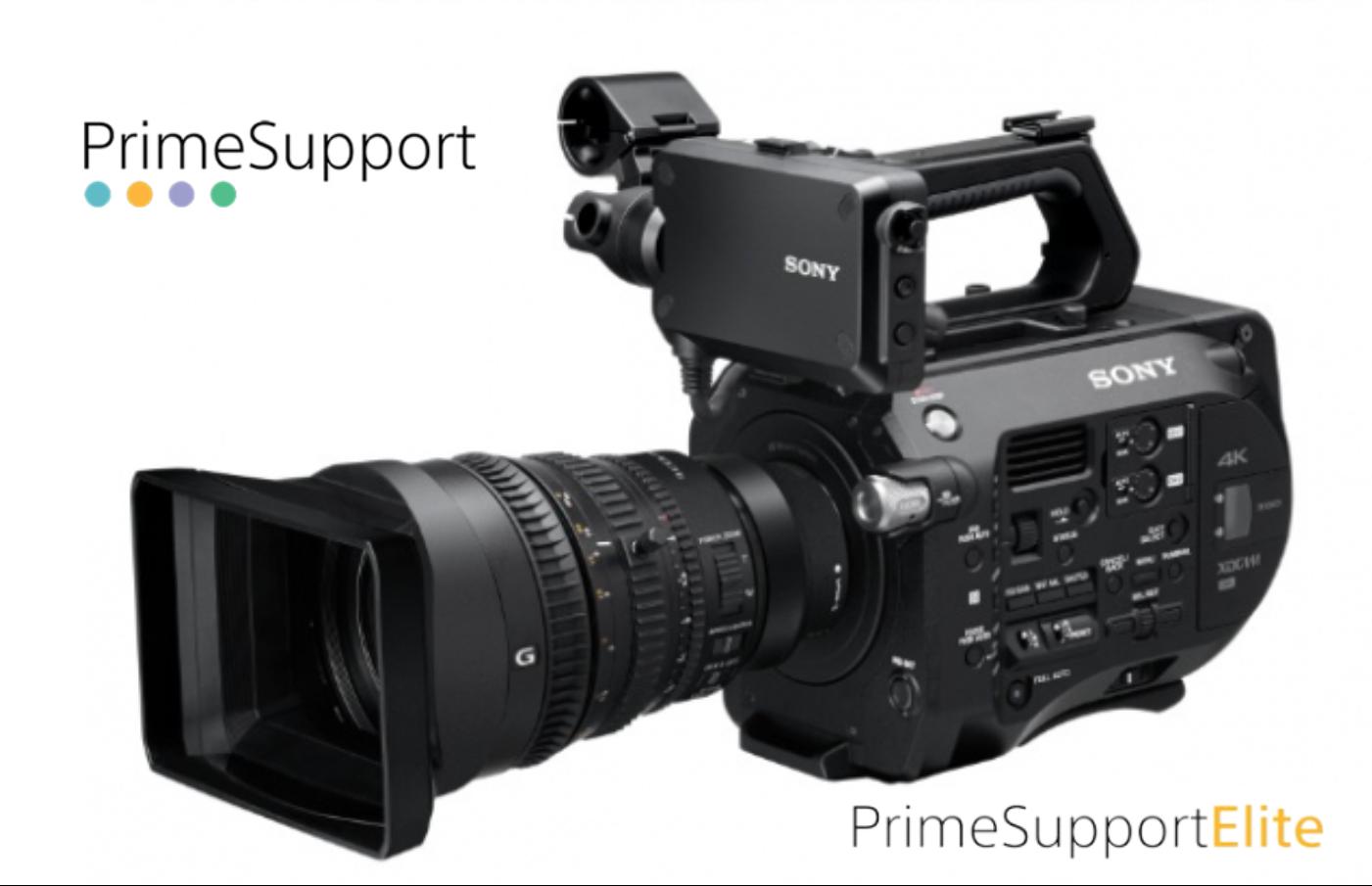 Sony PXW-FS7K + 2 Anos de Garantia Adicional (Prime Support ELITE)