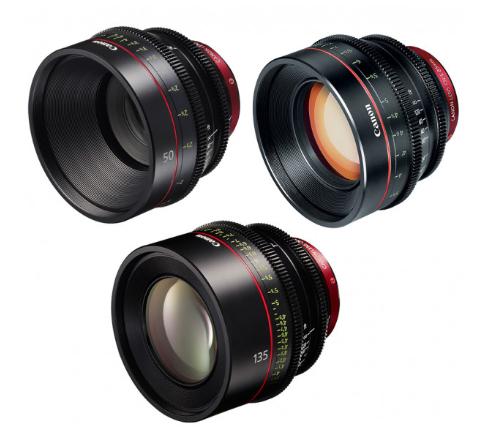 Canon EF Primes Bundle 50/85/135 (M)