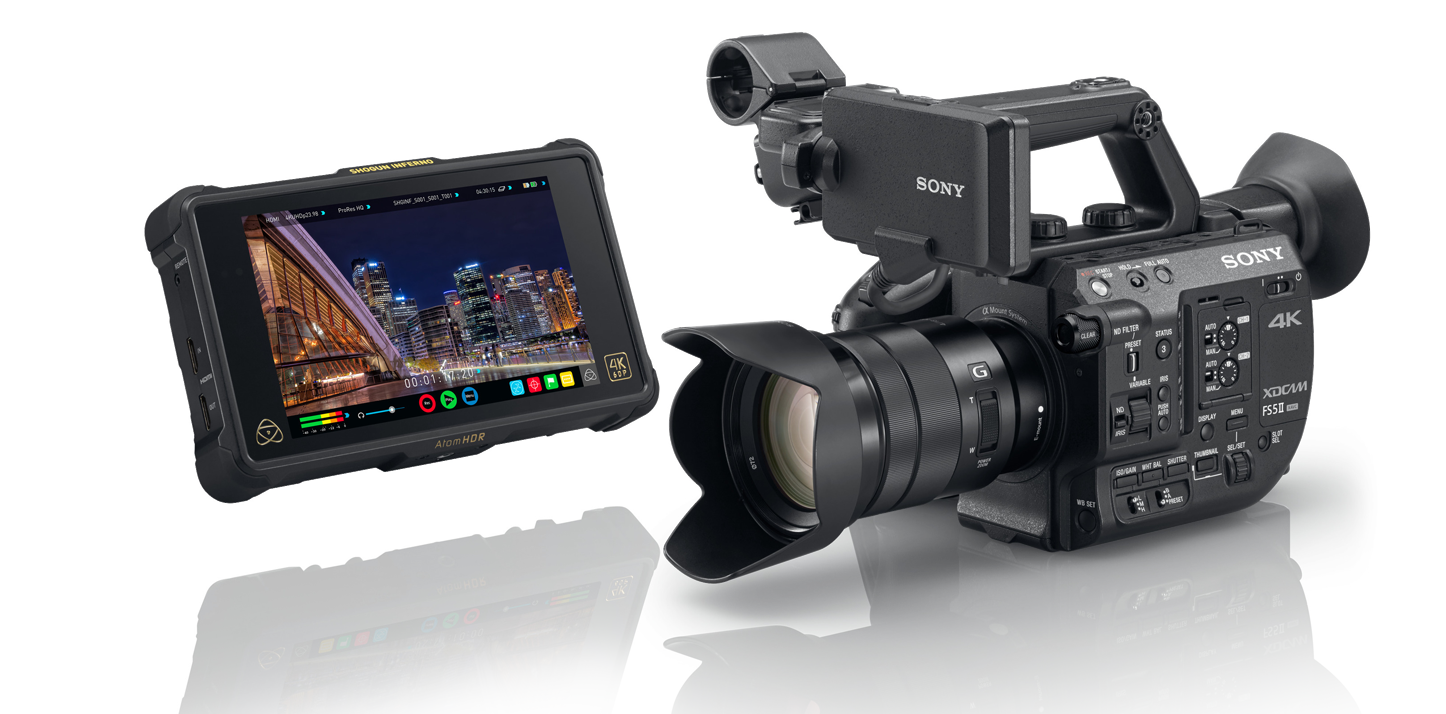 Sony PXW-FS5 Mark II + ATOMOS Shogun Inferno