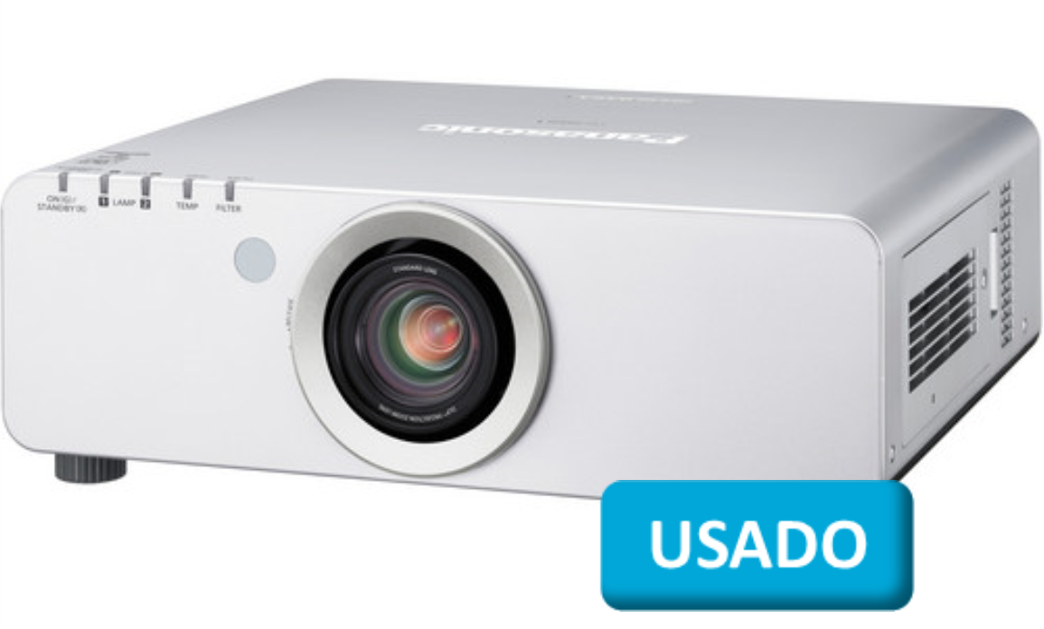 Panasonic Projector de Vídeo e Dados - Lente Incluída