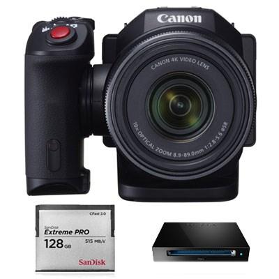 Canon XC10 Kit Cartão 128GB e Leitor - Unidade de DEMO (Outubro de 2015)