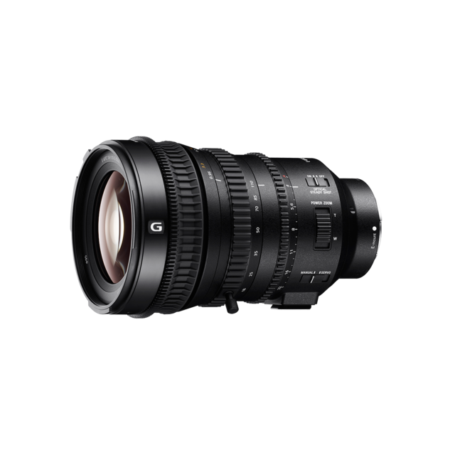 Sony Objetiva E-Mount Super35 / APS-C Lens PZ 18-110mmF4