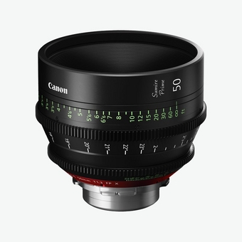 Canon Sumire Prime Lens CN-E50mm T1.3 FP
