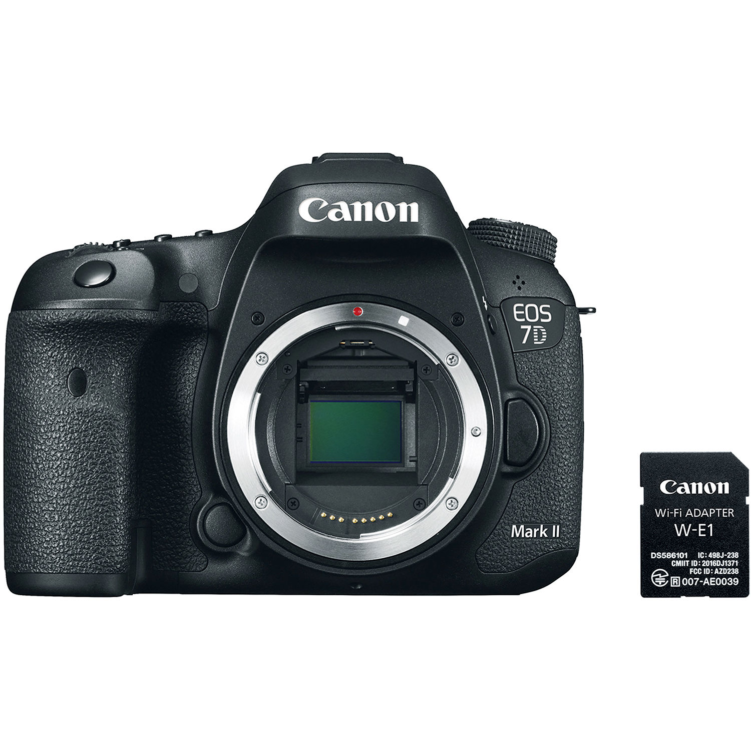 Canon EOS 7D Mark II + Wi-Fi Adapter W-E1