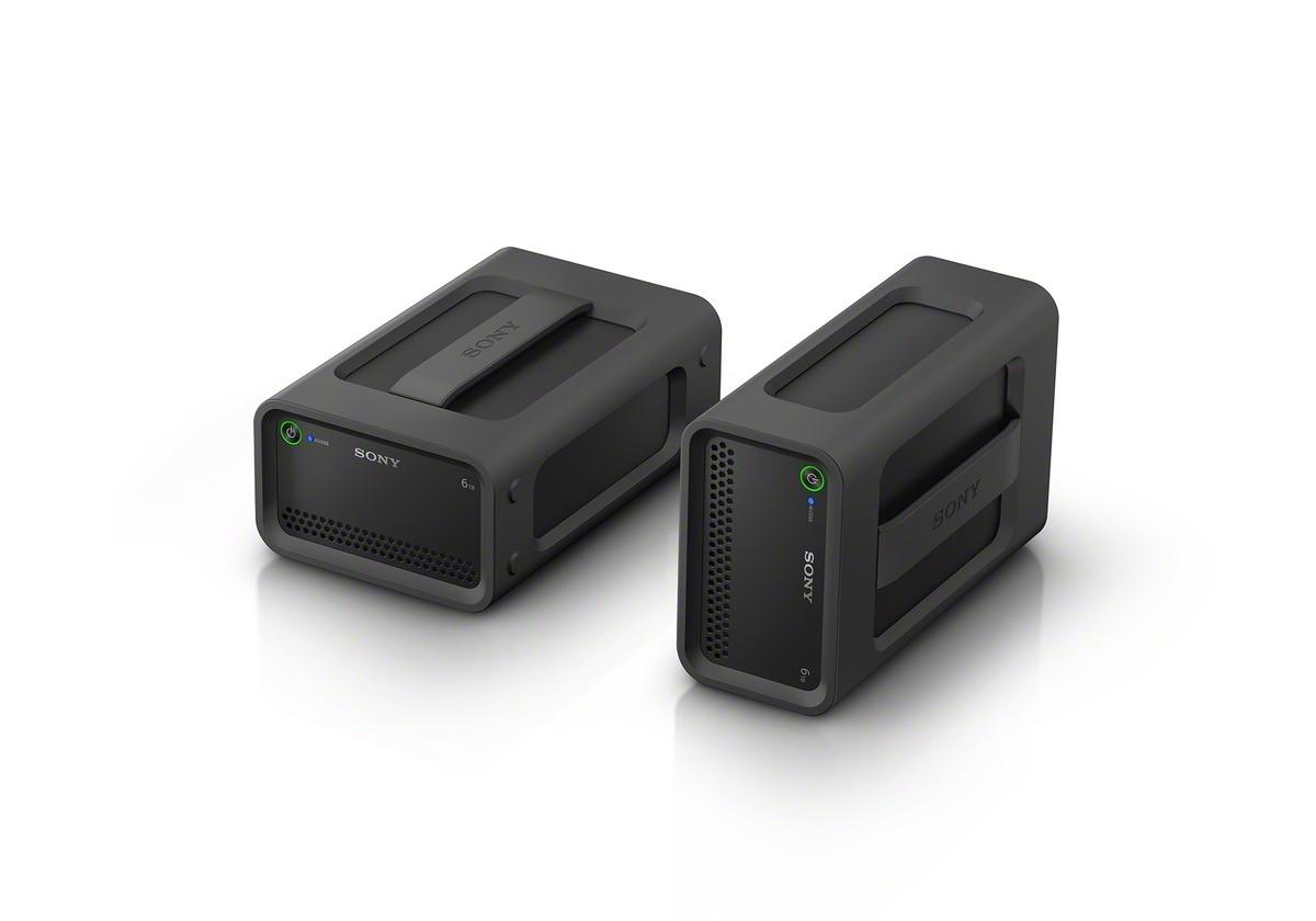SONY PSZ-RA4T Disco duro RAID de 4 TB com velocidade até 440 MB/s