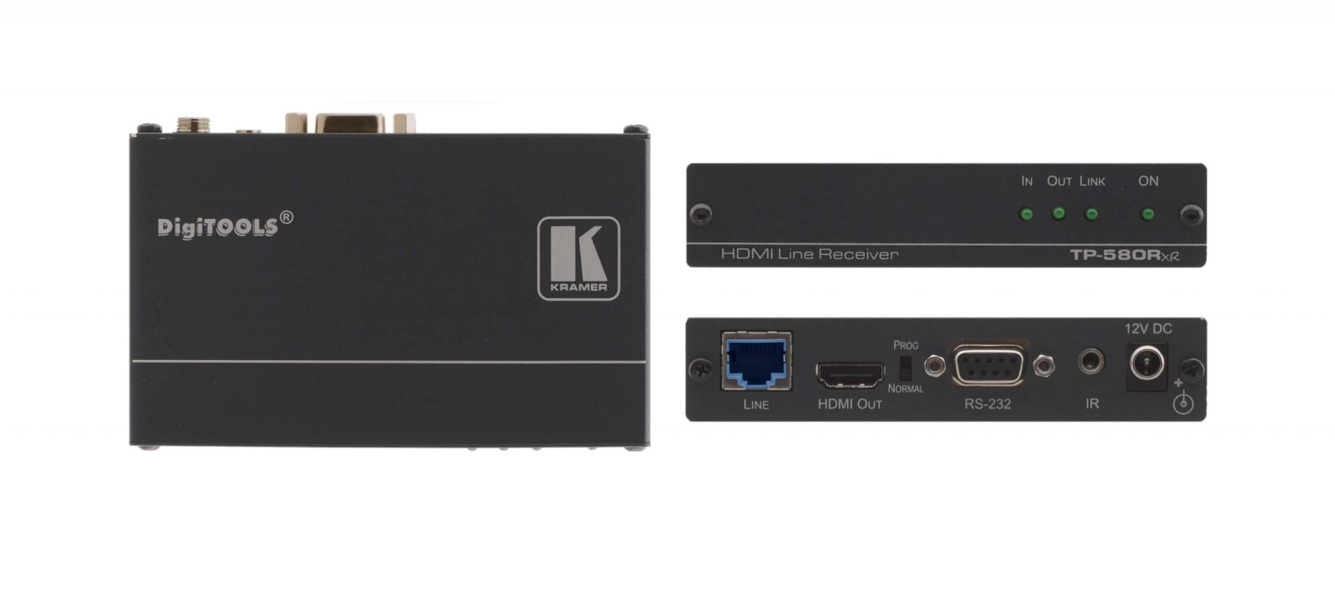 Kramer TP-580Rxr - 4K60 4:2:0 HDMI HDCP 2.2 Receiver