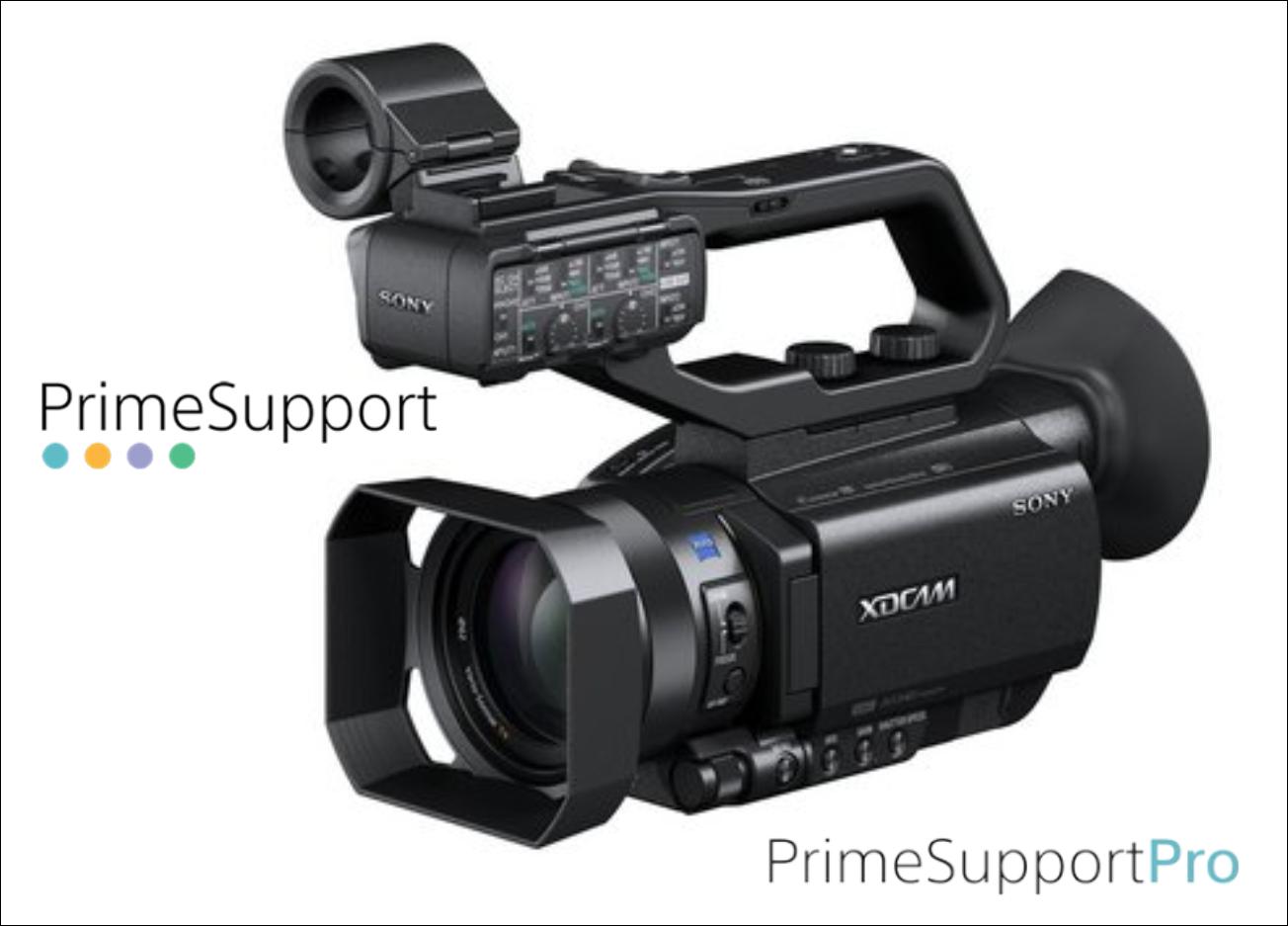 Sony PXW-X70 4K + 1 Ano de Garantia Adicional (Prime Support PRO)