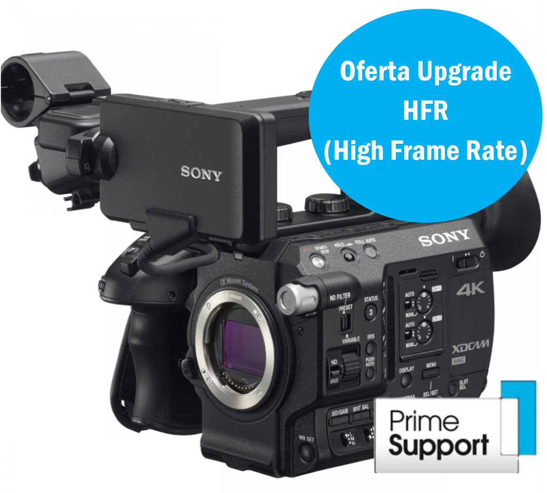 Sony PXW-FS5 com RAW Upgrade CBKZ-FS5RIF