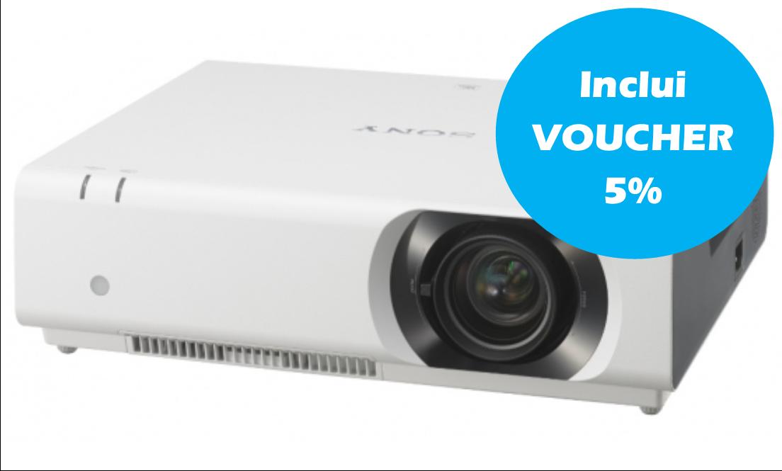 Videoprojetor Profissional Sony LCD - VPL-CH375
