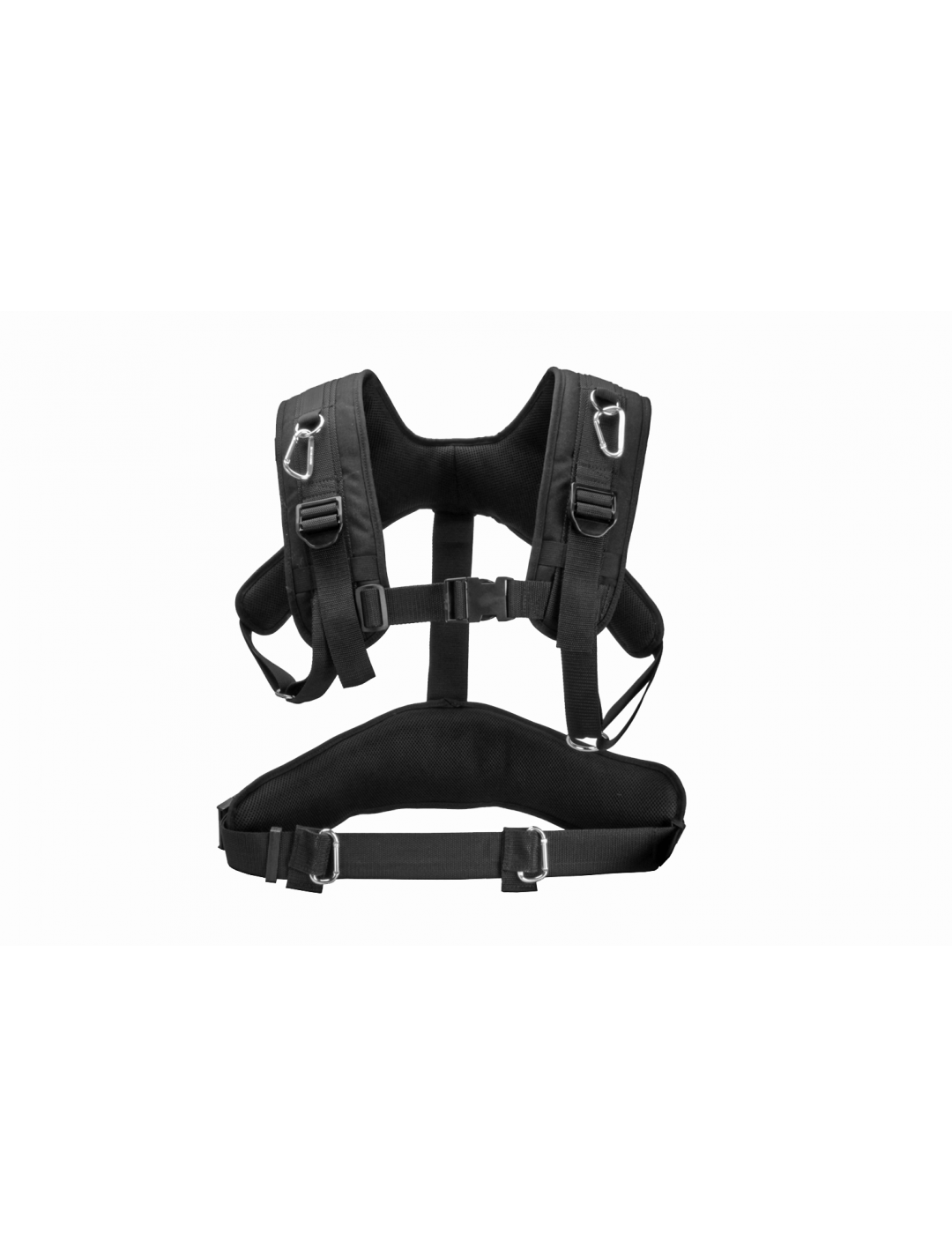 Porta Brace AH-2HB Audio Harness, Durable Nylon Straps, Black