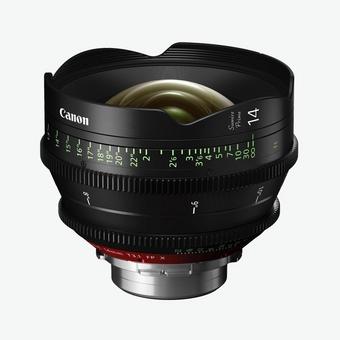 Canon Sumire Prime Lens CN-E14mm T1.3 FP