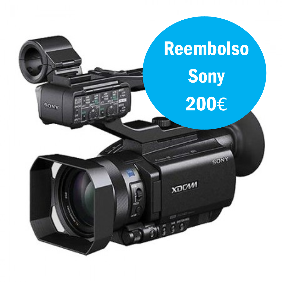 Sony PXW-X70 com upgrade 4K