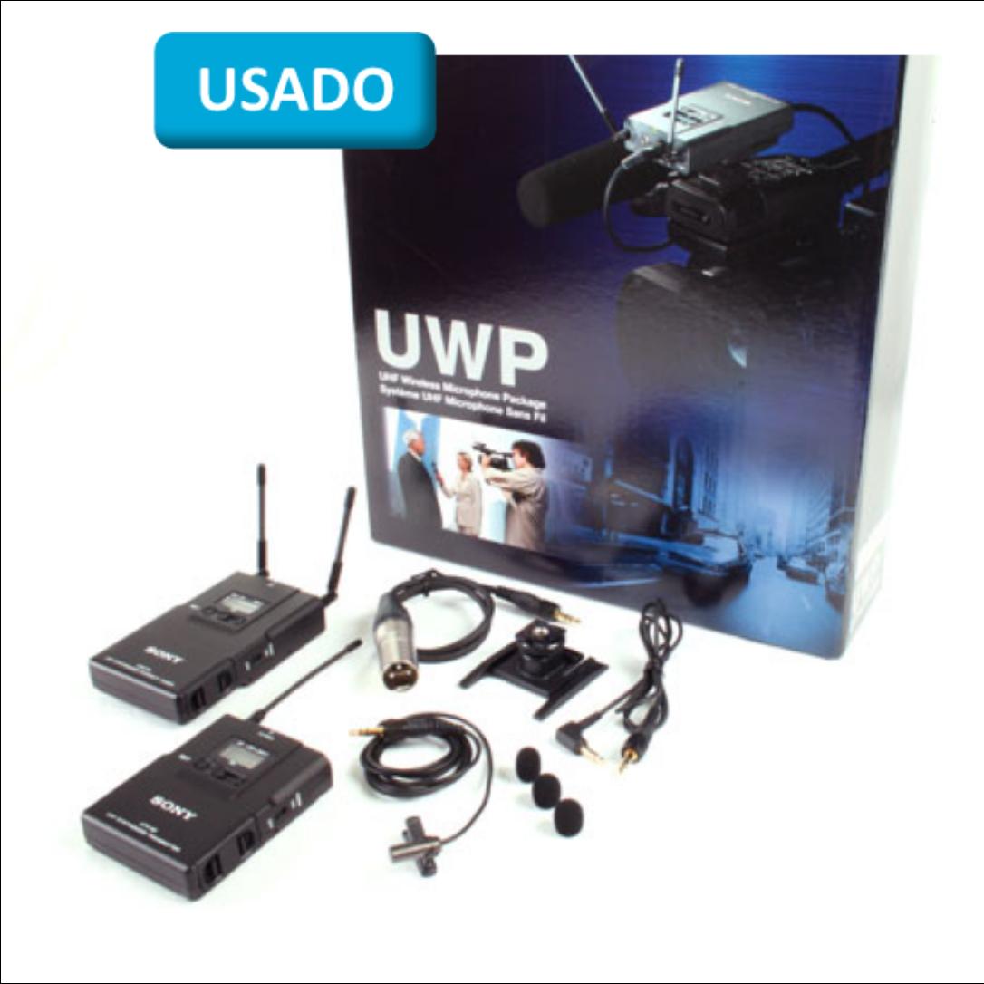Sony UHF Bodypack Transmitter & Portable Diversity Tuner