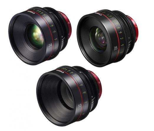 Canon EF Primes Bundle 24/35/50 (M)