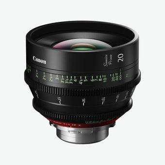 Canon Sumire Prime Lens CN-E20mm T1.5 FP