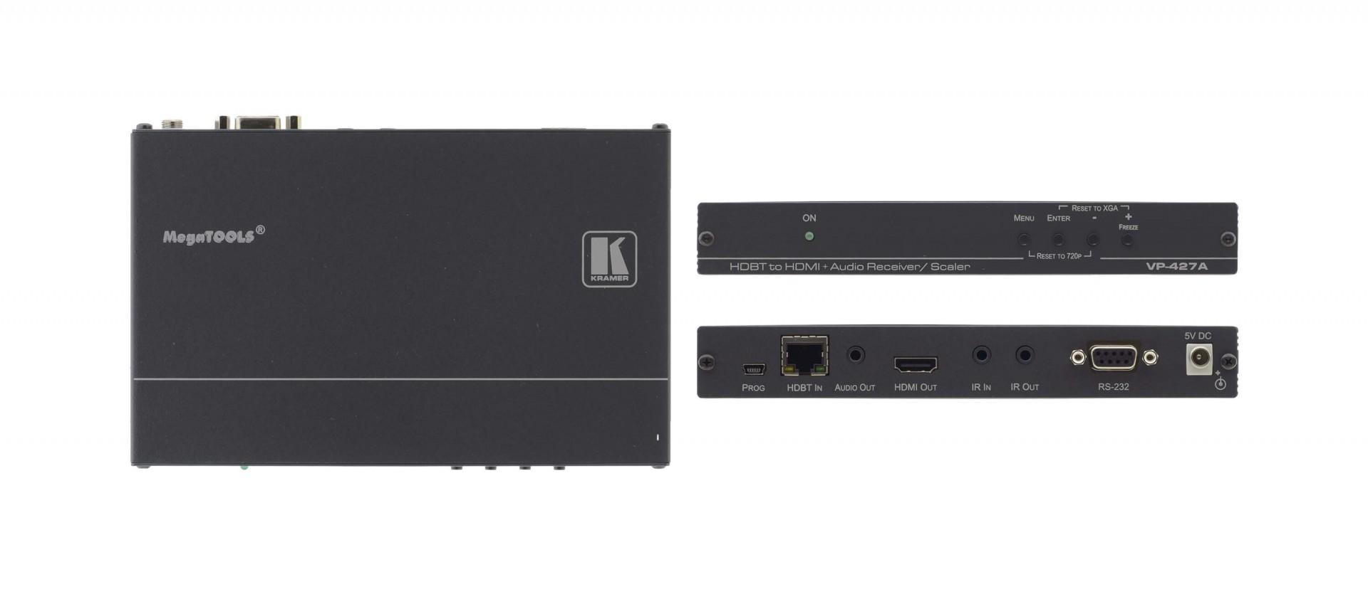 Kramer VP-427A HDBaseT to HDMI & Audio ProScale™ Receiver/Scaler