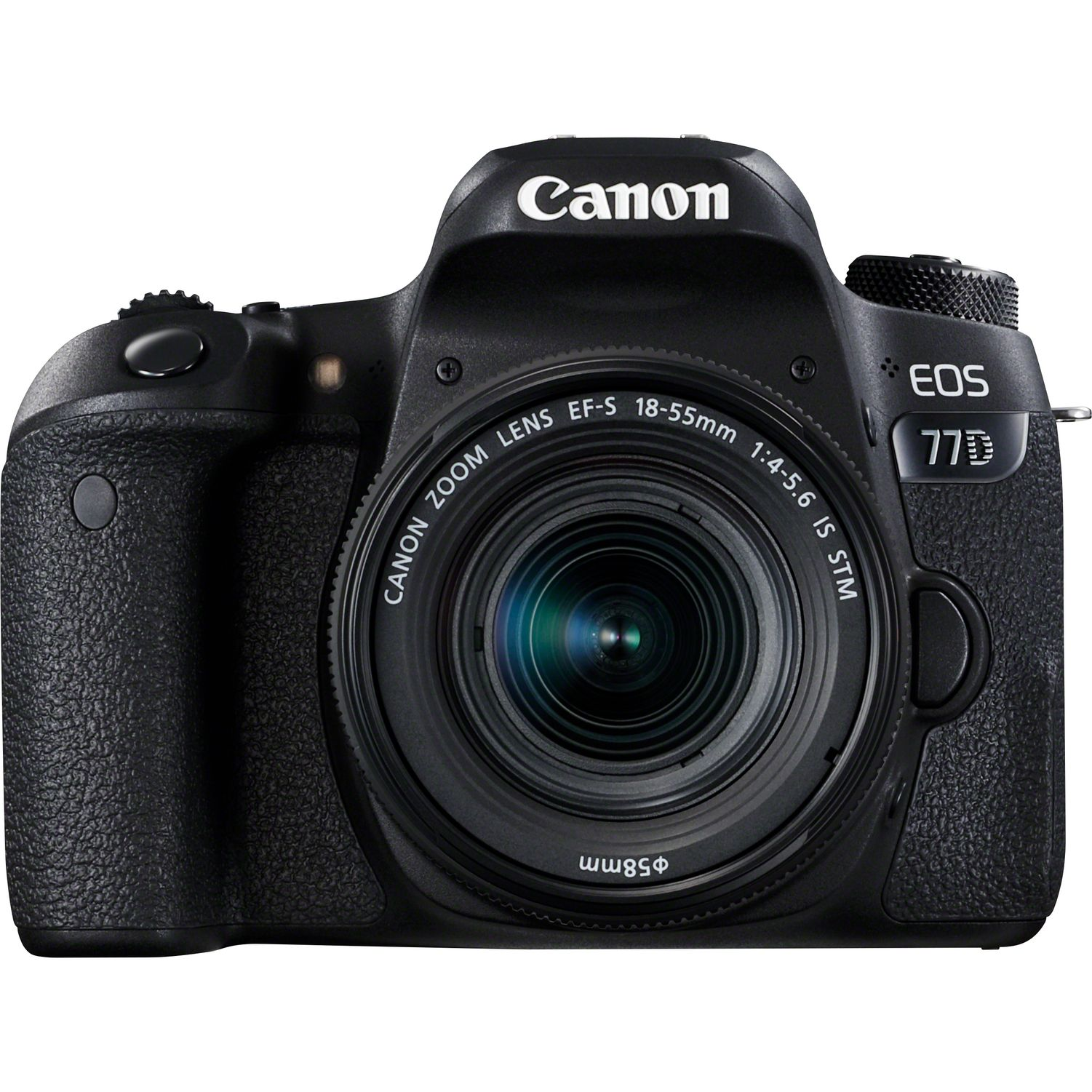 Canon EOS 77D e EF-S 18-55mm f/4-5.6 IS STM