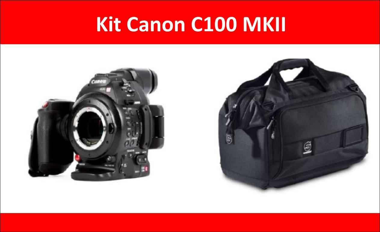 Promoção Canon EOS C100 MarkII + Saco de Transporte Sachtler