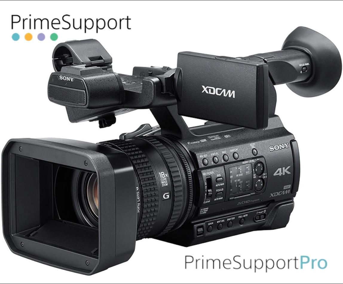 Sony PXW-Z150 + 1 Ano de Garantia Adicional (Prime Support PRO)