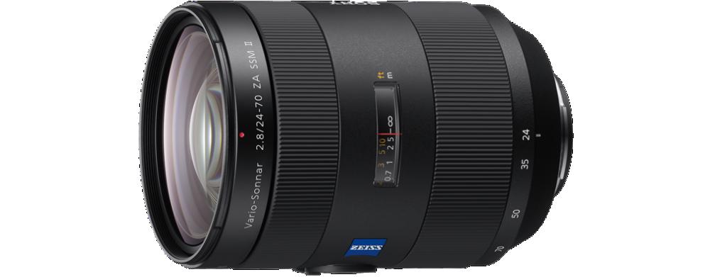 Sony Objetiva Vario-Sonnar® T* 24-70 mm F2.8 ZA SSM II