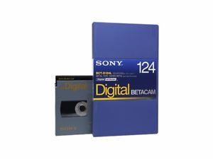 Sony Cassete BCT-D124L para Betacam Digital