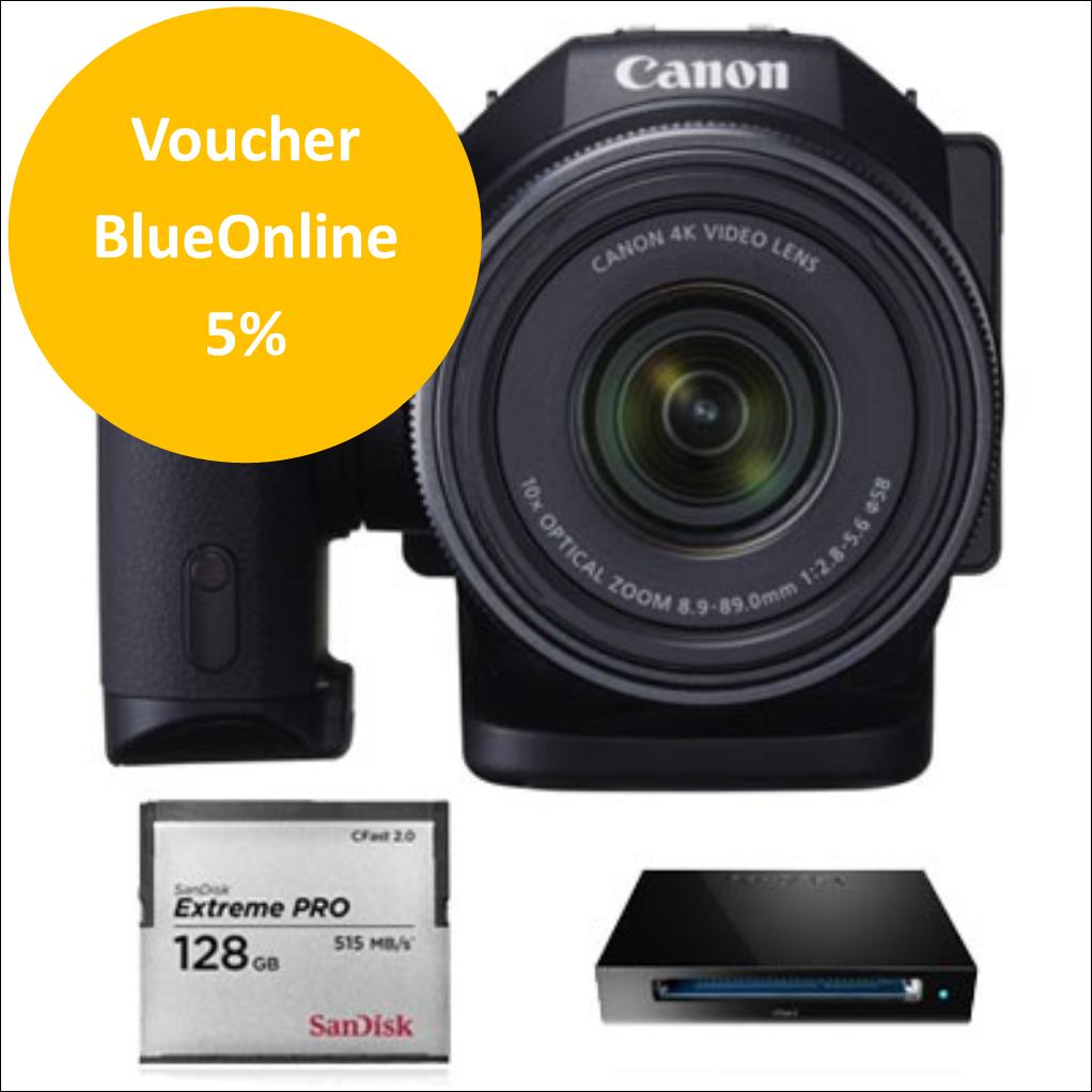Canon XC10 Kit Cartão 128GB e Leitor