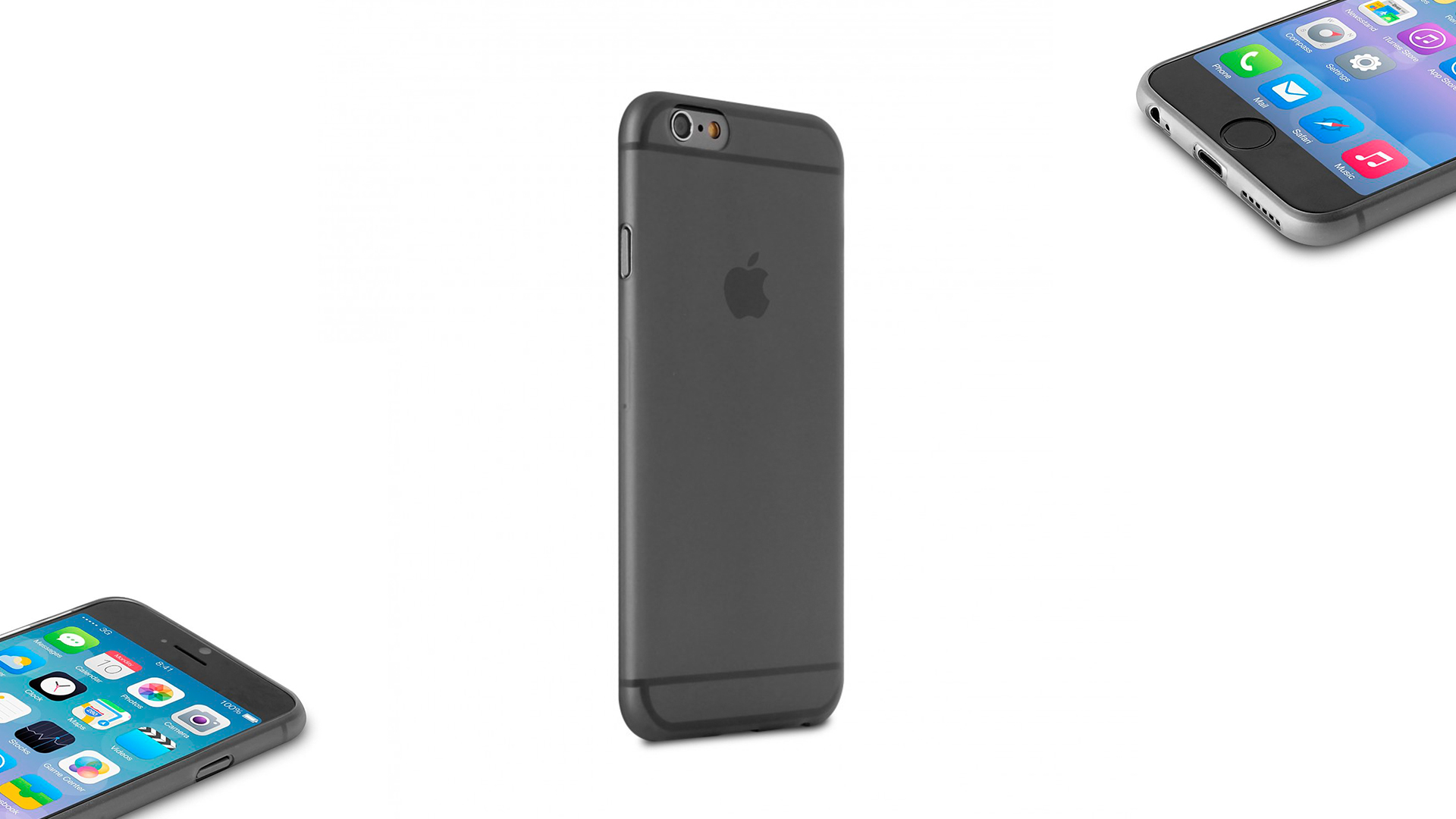 1202a625e iPhone 6 6S Plus Capa Ultra-Fina 0.3 Puro ...