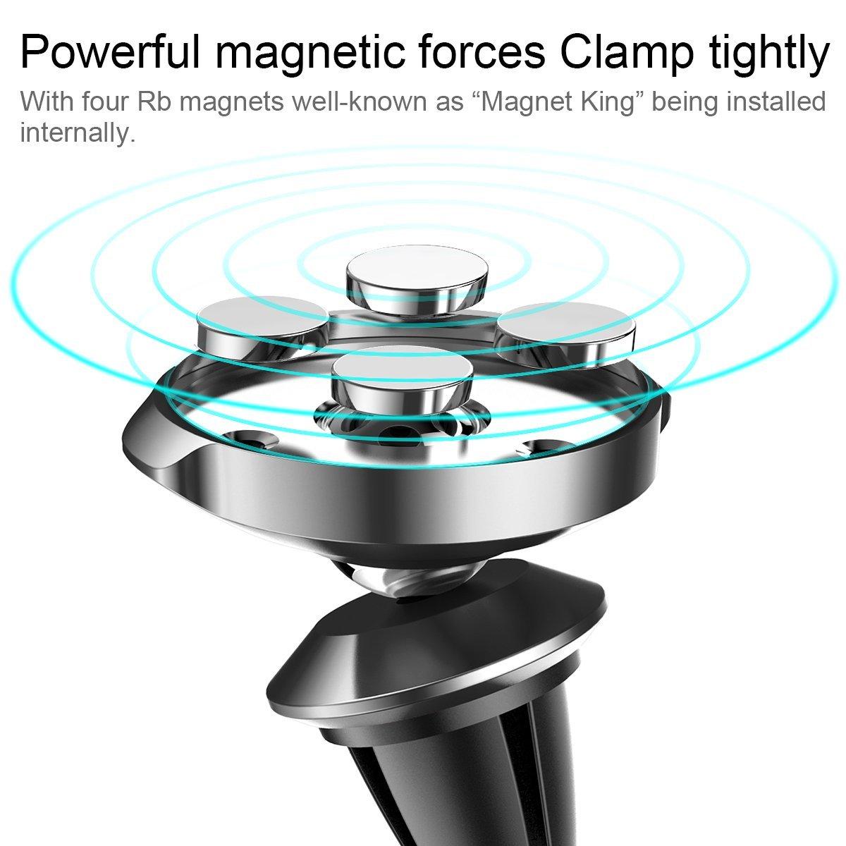 c70d3b1b4 ... Suporte Magnético Baseus Small Ears 360º Universal para automóvel ...