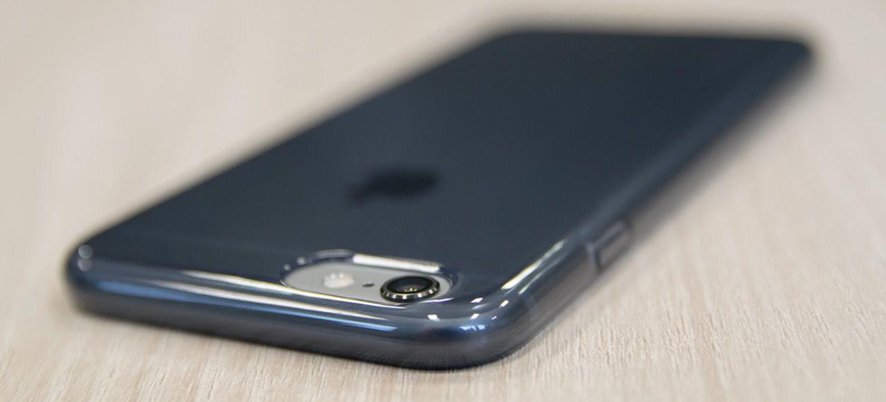 526c0dfdc119d iPhone 6 6S Plus Capa Silicone Transparente Plasma PURO   iCare ...