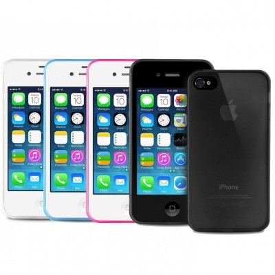 iPhone 4/4S Capa Ultra-Fina 0.3 Puro