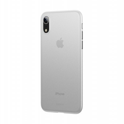 iPhone XR Capa Ultra Fina Baseus Wing - Transparente Mate