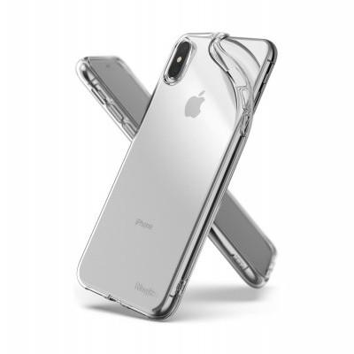 iPhone XS Max Capa Fina Ringke Air 3-in-1 (Capa+Porta-cartões+Fita)