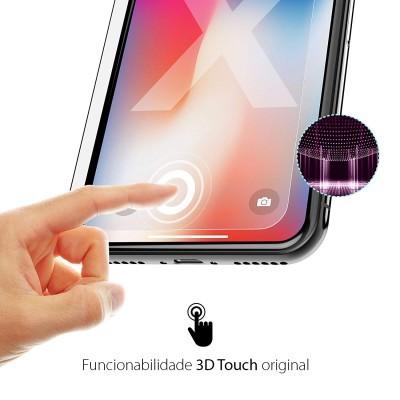 Películas de Protecção de Ecrã em Vidro Temperado 5D Full Nano Flex HD iPhone 11 Pro