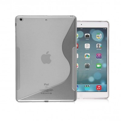 Capa Silicone Semi-Transparente para iPad mini